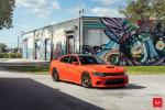 Dodge Charger SRT Hellcat on Vossen Wheels (HF-5) 2020 года
